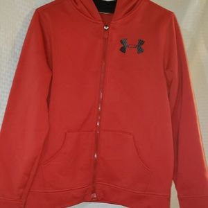 Youth xxl under armour zip up hoodie